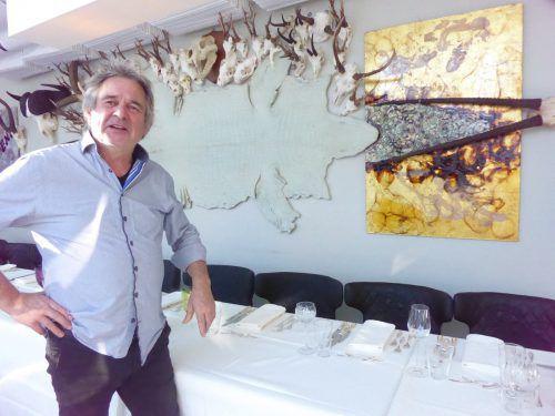 Organisiert wurde die Ausstellung der neuen Arbeiten von Paul Renner vom Galeristen Gregor Koller. Koller