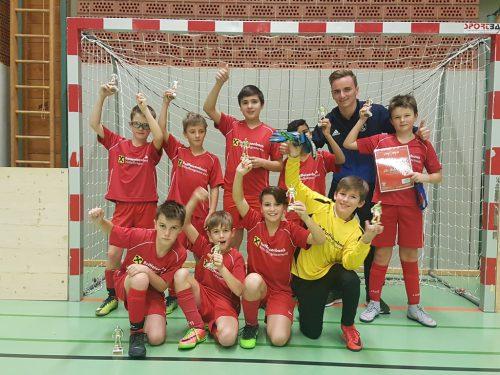 Platz zwei für das U12-Team des FC Andelsbuch.siha
