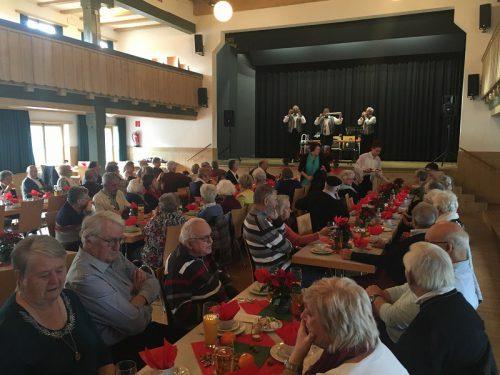 PVÖ-Jahresabschlussfeier im Kennelbacher Schindlersaal. PVÖ