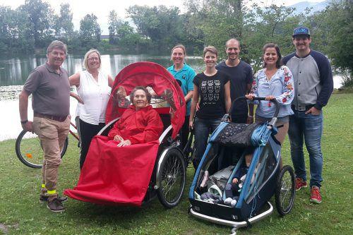 Radeln ohne Alter: Die Dornbirnerin Frieda fuhr mit ihren Kindern, Enkeln und Urenkel an den Alten Rhein. Satdt