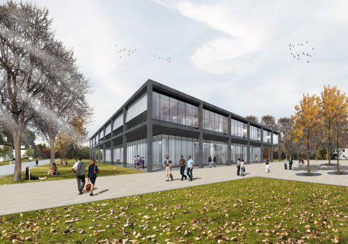 Regionales Innovationszentrum in Friedrichshfen. Baumschlager hutter