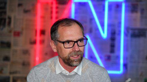 """Rudi Lins jun. sieht für 2019 ein stabiles Neuwagengeschäft. """"Die wirtschaftlichen Rahmenbedingungen passen"""".VN/Lerch"""