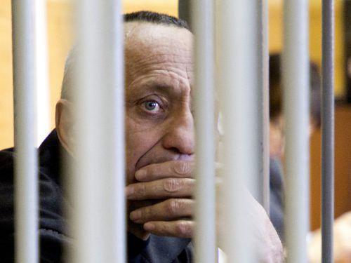 """Russlands """"Serienmörder Nummer eins"""" ist erneut für schuldig befunden worden. Michail Popkow wurde bereits 2015 wegen 22 Frauenmorden zu lebenslanger Haft verurteilt. AP"""