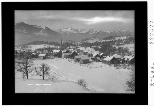 Schnifis im Winter, Datierung unbekannt. Risch-Lau