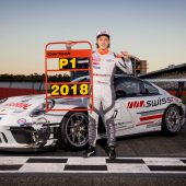 Dornbirner Sebastian Daumstartet im Porsche-Carrera-Cup