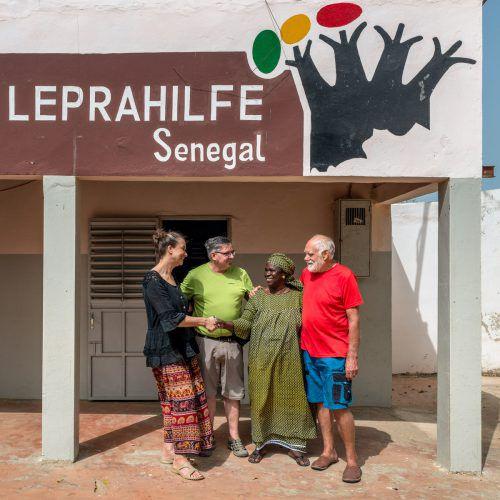 """Seit 1980 ist die Leprahilfe Senegal aktiv. Nun übernahm der Verein """"Wissen macht stark"""" aus Vorarlberg die Organisation. Leprahilfe"""