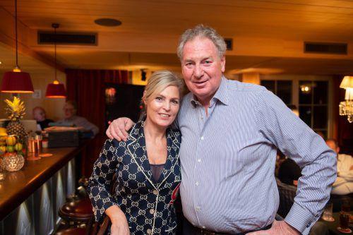 Seit 53 Jahren treue Gäste in Lech: Edwin Rijstenborgh und Nicole.