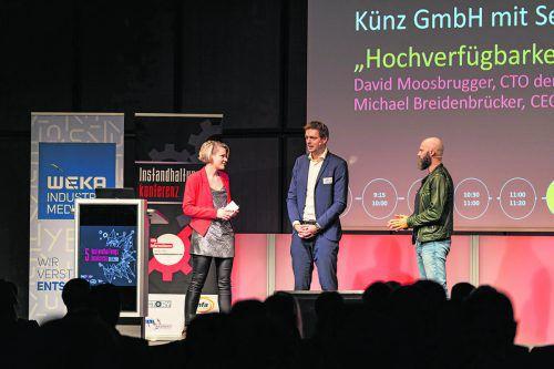 Senseforce findet großen Anklang, unter anderem bei einer der größten Konferenzen in Österreich für die Maschinenindustrie. Matthias Heschl