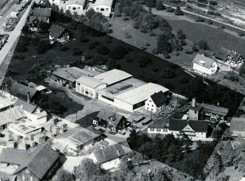 So sah das Gebäude noch im Jahr 1962 aus.