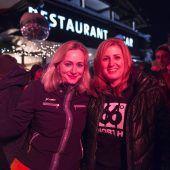 Multimediale Party am Arlberg