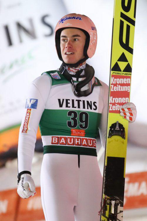 Stefan Kraft feierte am Samstag mit Rang fünf sein bestes Saisonergebnis. Gepa