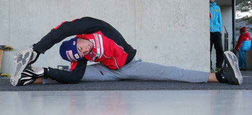 Stefan Kraft ist Österreichs Hoffnungsträger bei der Vierschanzentouree.gepa