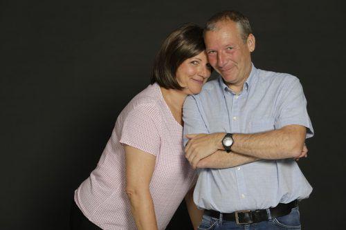 Stefan Vögel und Maria Neuschmid sind ein Kabarett-Dream-Team. vovo