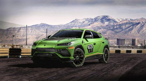 SUV für die Rennstrecke: Lamborghini hat eine neue Rennserie angekündigt und gleich auch das Einsatzfahrzeug präsentiert. Der Urus ST-X Concept basiert auf dem Serien-SUV.
