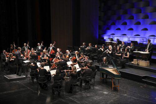 Symphonieorchester Vorarlberg unter der Leitung von Leo McFall im Bregenzer Festspielhaus. sov/mathis