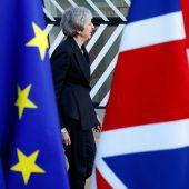 May kämpft um Rückendeckung der EU