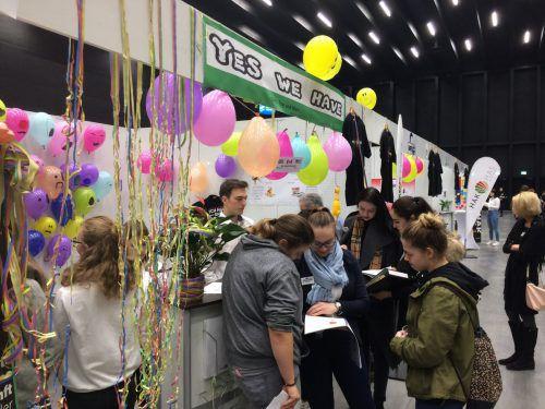 Über 1000 Schülerinnen und Schüler aus aller Welt waren mit ihren Übungsfirmen in Dornbirn. lcf
