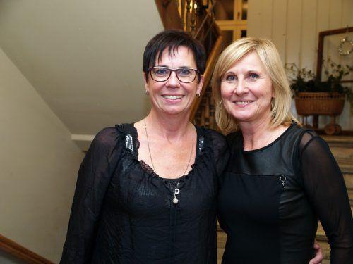 Unter den Gästen: Kathrin Keckeis und Renate di Matteo.