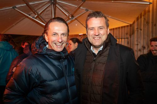 (v. l.) Christian Rainer (Profil) und Pit Gottschalk (Funke).