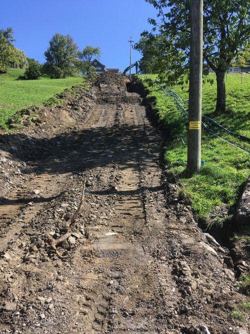 Viktorsberg sanierte Wasserleitungen im Zuge von VKW-Grabungsarbeiten.