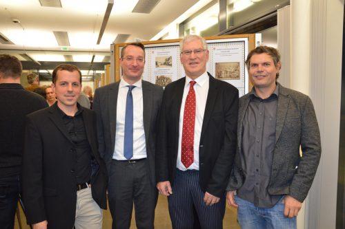 Vincent Baur, Graham Fitz, Hubert Peschl, Oliver Heinzle.