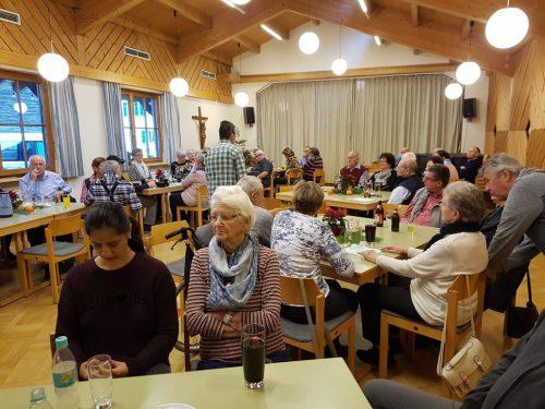 Weihnachtsfeier des Parkinson Selbsthilfevereins-Vorarlberg. parkinson selbsthilfe