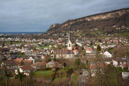 Wolfurt entwickelt schrittweise seine Ortsteile.