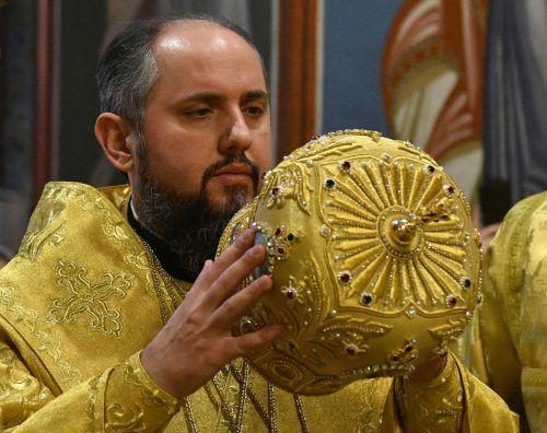 Yepifaniy Sergiy Dumenko ist Patriarch der ukrainischen orthodoxen Kirche. afp