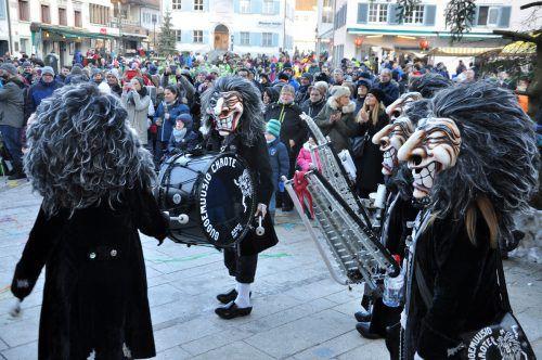 19 Formationen boten beim 25. Monsterkonzert in Dornbirn ein lautstarkes Spektakel und sorgten für beste Stimmung.