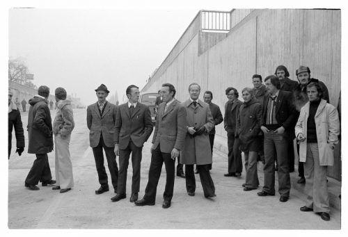 1977: Die Unterführung Dornbirn-Schwefel wird eingeweiht.