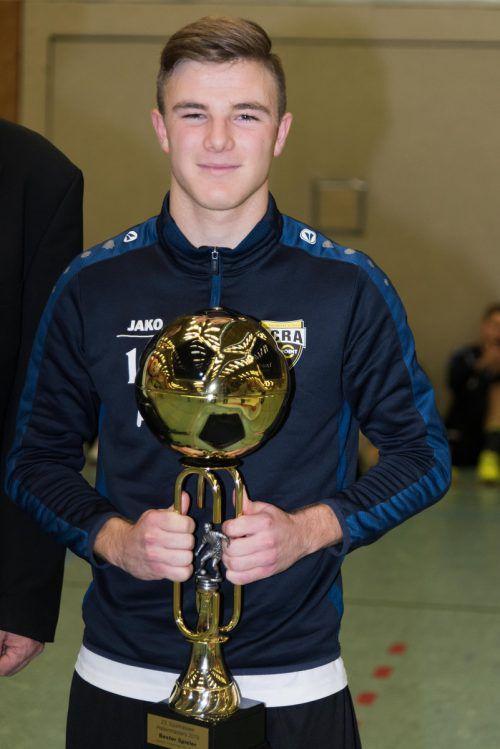 Als bester Spieler des Turniers wurde Altachs Lars Nussbaumer ausgezeichnet.