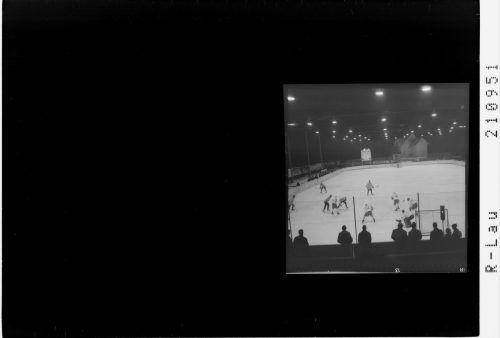 Am Breiten Wasen wurde natürlich auch Eishockey gespielt.