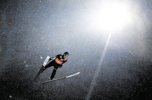 An Ryoyu Kobayashi gab es wieder kein Vorbeikommen. Der Japaner flog auf den vier Tournee-Schanzen in Garmisch-Partenkirchen, Oberstorf, Innsbruck und Bischofshofen der gesamten Konkurrenz davon.AP
