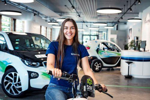 Anna-Lena Ferrari macht bei den VKW eine kaufmännische Lehre.