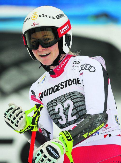 Ariane Rädler war im Garmischer Super-G auf Rang zwölf zweitbeste ÖSV-Dame. gepa