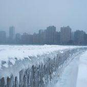 Arktische Kälte