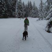 Eine winterliche Hüttenpartie