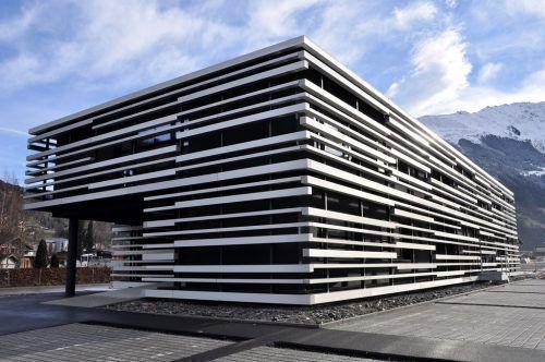 Platzt aus allen Nähten: Firmengebäude von Gantner Instruments in Schruns.Fa