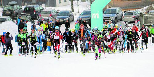 Bei perfekten Bedingungen wurde die zehnte Auflage des Martini-Niederelaufes der Skibergsteiger und Tourengeher in Andelsbuch ausgetragen.Veranstalter