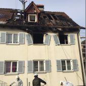 Brand raubt 16 Menschen ihr Zuhause
