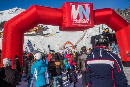 Beim Weißen Ring geht's an bestimmten Stellen sogar bergauf. Über 1000 Teilnehmer werden bei der 14. Auflage erwartet.VN/Steurer