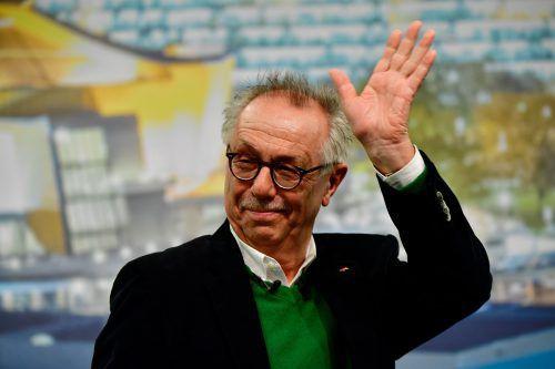 Berlinale-Chef Dieter Kosslick präsentierte die Wettbewerbsfilme. afp