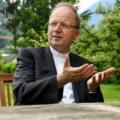 Auch Bischof Benno macht sich Gedanken über die Endlichkeit des Lebens.vn/lerch