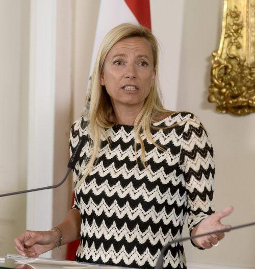 Bogner-Strauß ist offen für eine Änderung des Kindergeldes. APA