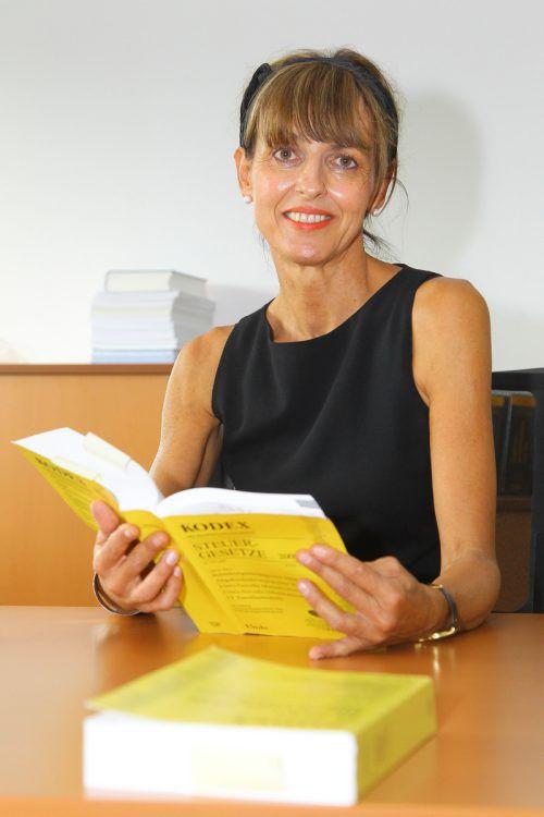 Brigitte Metzler wird interimistisch beide Finanzämter leiten. VN/HB