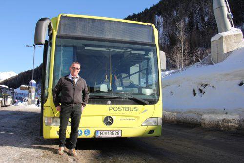 Buslenker Reinhard Raggl bewies bei einem Zwischenfall im Arlbergtunnel Nervenstärke und reagierte lehrbuchmäßig. ÖBB