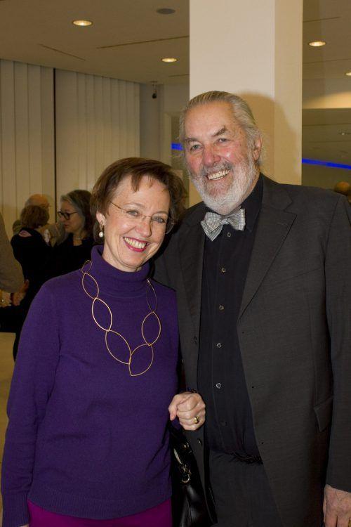 Cornelia Hoffecker und Peter Stemberger.