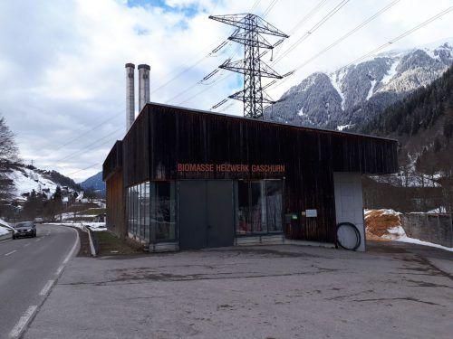 Das Biomasseheizwerk in Gaschurn wird heuer umgerüstet. VN/HP