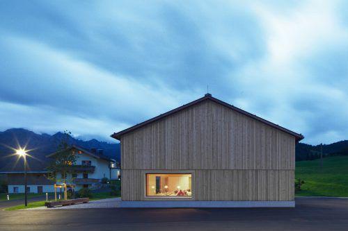 Das Dorfhaus in Steinberg am Rofan. richard/ernardo Bader