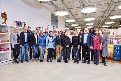 Das erfahrene Team der Getzner-Boutique in Lustenau freut sich auf Besucher. gemeinde